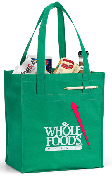 Two Popular Nonwoven Polypropylene Grocery Bags | Bulletin Bag [.com]