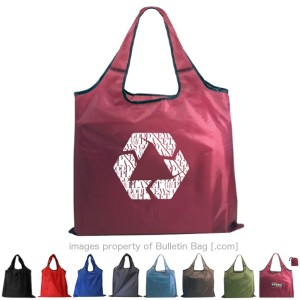 Bags made from recycled materials