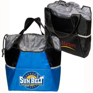 Insulated Drawstring Tote