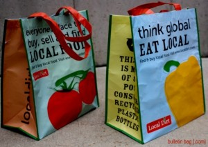 Laminated Whole Foods Bags