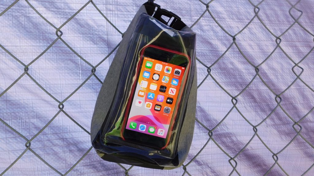 2L Dry Bag with Phone Pocket