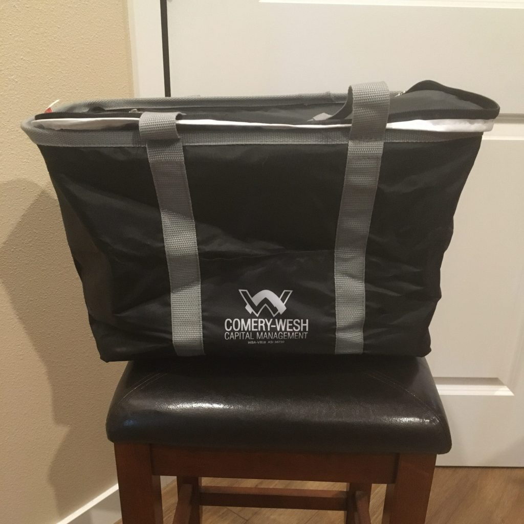 Store-Flat Thermal Tote