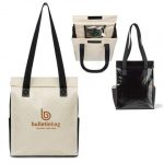 Coated Cotton Shopping Tote