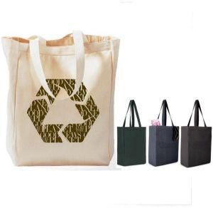 Cotton Canvas Reusable Grocery Bag