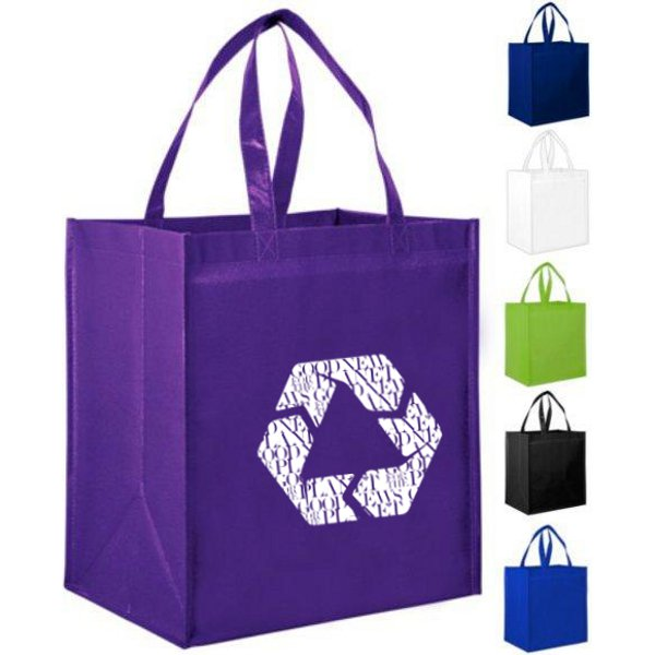 Large Solid Glossy Laminated Bag d1403c47c7ce4