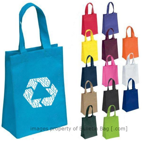 a961ed482 Custom Reusable Bags with Full Color Printing | Bulletin Bag [.com]