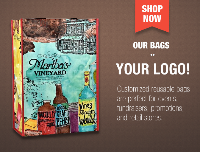 Custom Reusable Bags, Shopping, Tote, Grocery, Backpacks ...